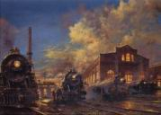 Paintings Steam Trains
